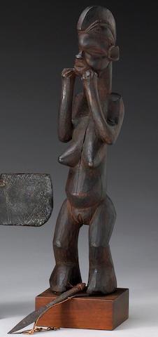 A Suku figure