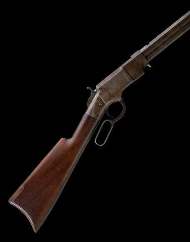 A rare iron frame Henry Model 1860 lever action rifle