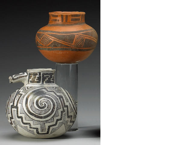 Two Anasazi ollas