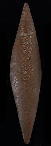 A Murray River Aborigine shield