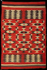 A Navajo transitional rug, 7ft x 4ft 9in