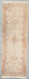 A Kerman long rug South Central Persia Size approximately 14ft 1in x 4ft 10in