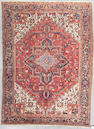 A Heriz carpet  Northwest Persia, Size approximately 11ft 6in x 8ft 5in