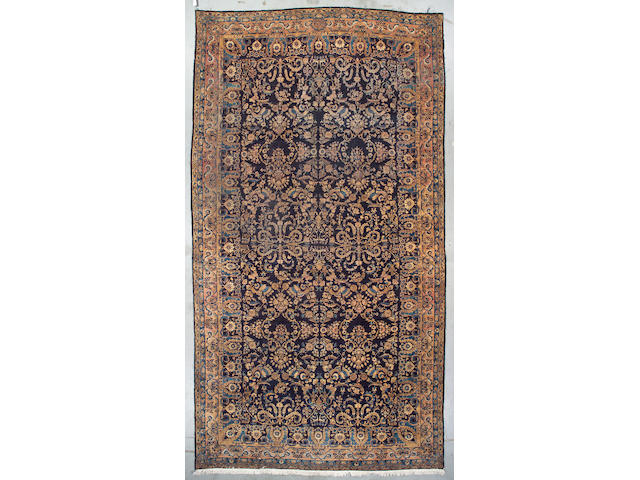 A Kerman carpet South Central Persia size approximately 16ft 8in x 9ft