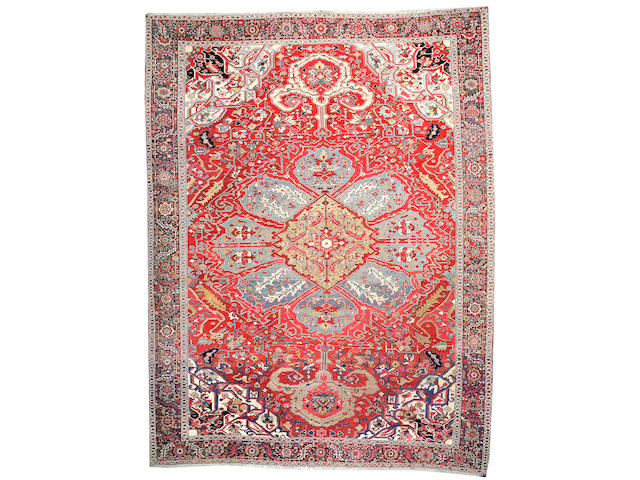 A Serapi carpet Northwest Persia size approximately 13ft 9in x 18ft 4in