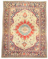 A Mahtasham Kashan carpet Central Persia, Size approximately 10ft x 7ft 5in
