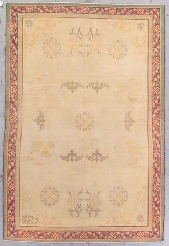 An Amritsar carpet India, Size approximately 9ft x 6ft