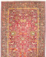 A Tabriz carpet Northwest Persia, Size approximately 25ft 4in x 10ft 9in