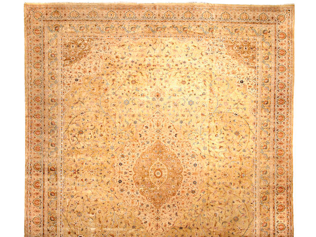 An Indian carpet Size approximately 20ft x 15ft