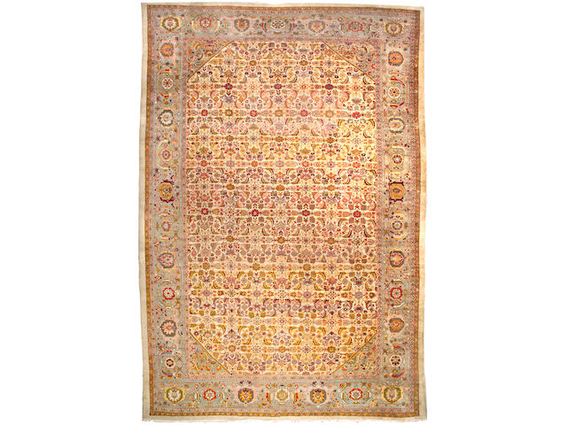 A Sultanabad carpet Central Persia, Size approximately 19ft x 12ft 11in