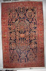 A Mohajeron Sarouk carpet Central Persia, Size approximately 17ft x 11ft