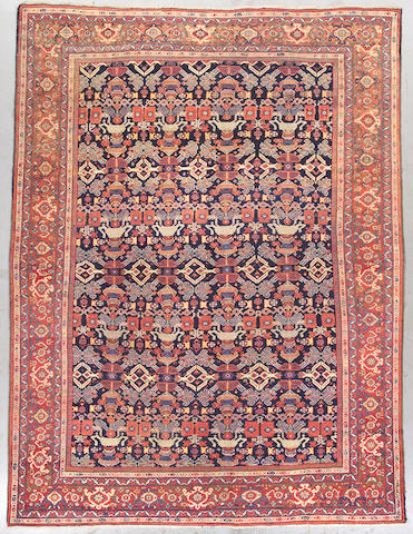A Mahal carpet Central Persia, Size approximately 12ft x 9ft