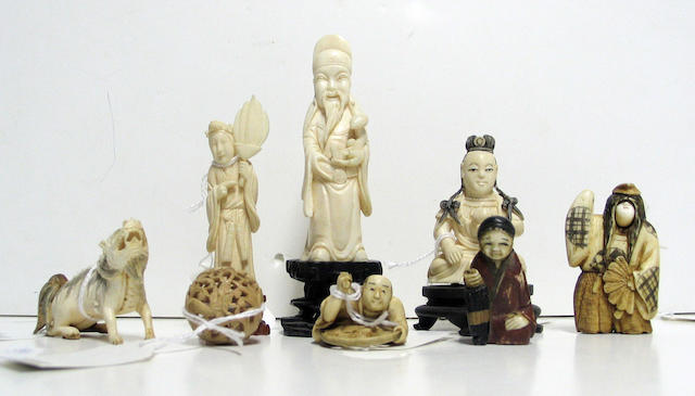 A collection of twenty-two Chinese and Japanese