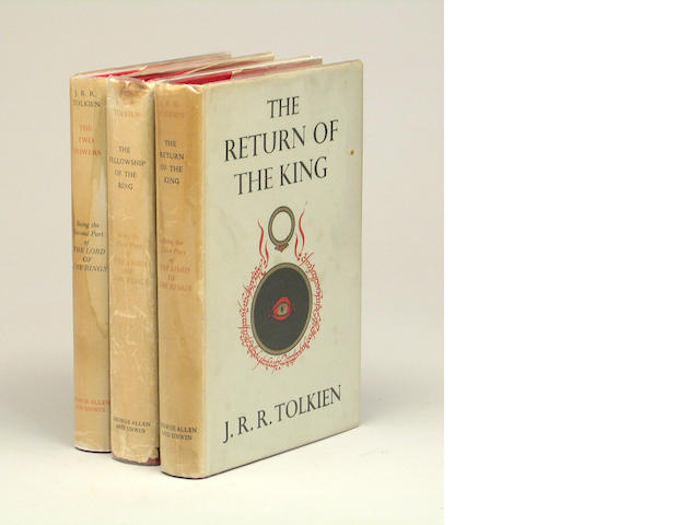 TOLKIEN. Lord of The Rings. 3 vols. UK.