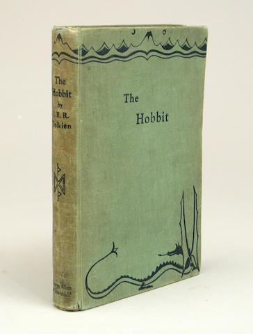 TOLKIEN. The Hobbit. UK 1st/2nd.