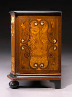 An Italian Baroque marquetry chest