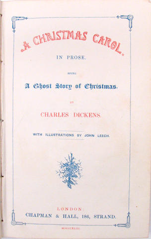 DICKENS, CHARLES.  1812-1870.