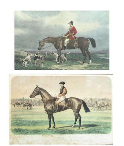 After William and Henry Barraud engraved by Edward Hacker; After Albert Adam; Mr. Charles Davis on the Traverser; Boïard; (2)