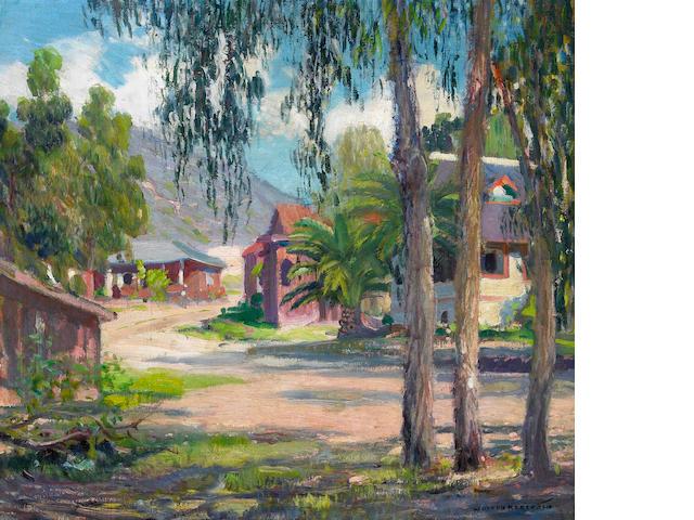 Joseph Kleitsch (1882-1931) Laguna Village 18 x 20in