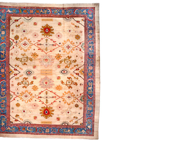 A Sultanabad Carpet Central Persia, Size approximately 14ft 9in x 19ft 1in