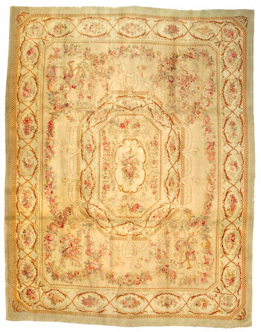 A Savonnerie Carpet France, Size approximately 11ft 8in x 15ft