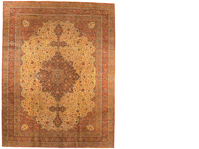 A Sivas carpet Anatolia, Size approximately 10ft x 13ft