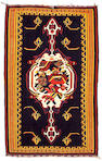 Senneh Silk Warp Kilim Rug Northwest Persia, Size approximately 2ft x 3ft 3in