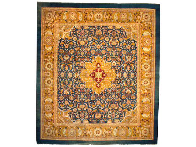 An Amritsar Carpet India, Size approximately 14ft x 16ft 4in