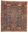 A Soumak Carpet Caucasian, Size approximately 8ft 4in x 9ft 10in