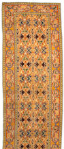 A Spanish Savonnerie style long Carpet Spain, Size approximately 6ft 8in x 22ft 9in