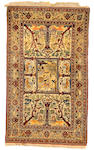 An Isfahan Rug South Central Persia, Size approximately 4ft 2in x 7ft