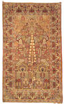 A Kerman Rug Central Persia, Size approximately 4ft 5in x 7ft 5in