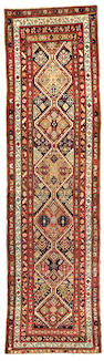 A Serab Runner Northwest Persia, Size approximately 3ft 3in x 12ft 4in