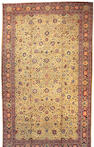 A Tabriz Carpet Northwest Persia, Size approximately 13ft x 22ft