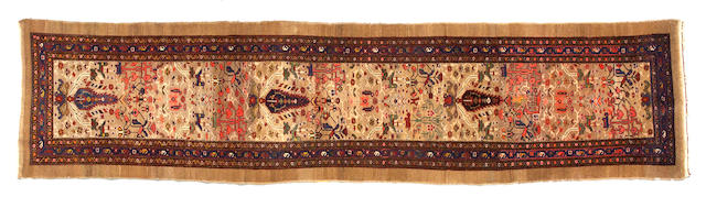 A Serab Runner Northwest Persia, Size approximately 3ft 5in x 13ft