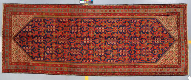 Malayar Runner Central Persia, Size approximately 5ft x 13ft