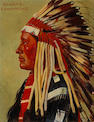 E.A. Burbank Comanche oil on canvas