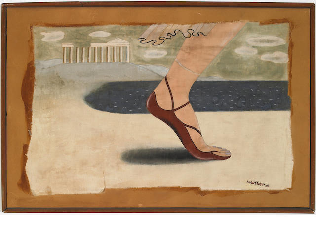 Herbert Bayer (Austrian 1900-1985) Griechisch, 1934  10½ x 15½in (26½ x 39cm)