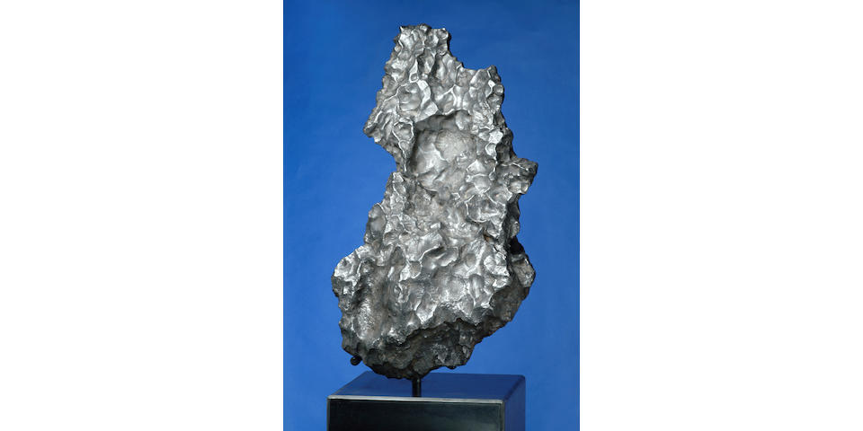 "CAMPO DEL CIELO — OUSTANDING SCULPTURAL IRON METEORITE FROM THE ""VALLEY OF THE SKY"""