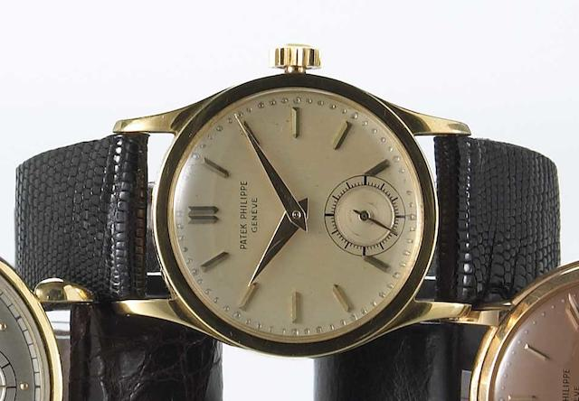 Patek Philippe & Co. A fine 18k gold wristwatch Calatrava, Ref.96, Case No.304325, Movement No.969319, circa 1952