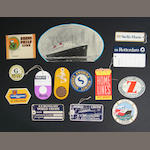 A collection of ocean liner baggage tags, and labels.