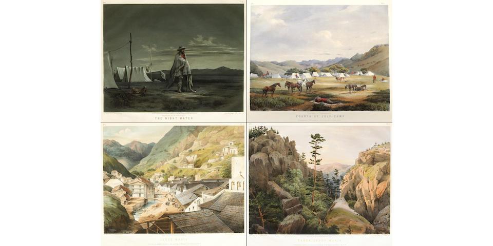 AUDUBON, JOHN WOODHOUSE. 1812-1862.