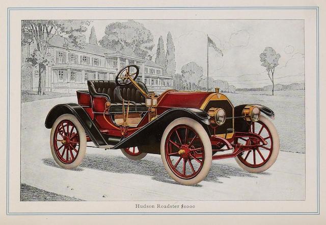 Hudson sales catalogue, 1910,