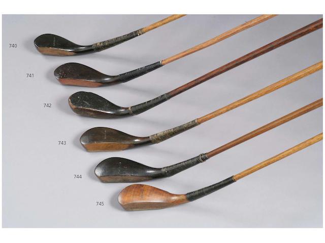 A James Wilson long nose Play Club, circa 1850,