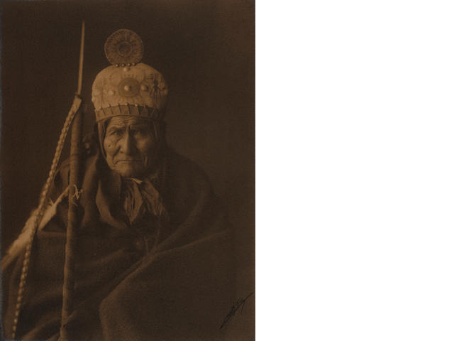 Edward Curtis: Portrait of Geronimo