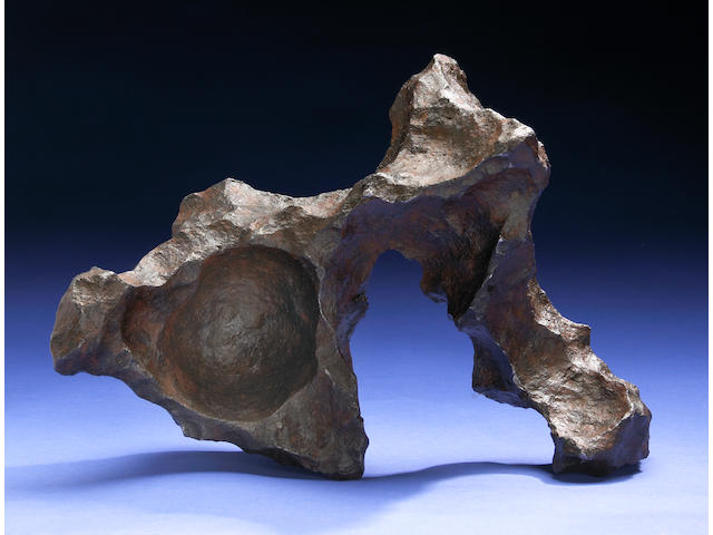 Gibeon – Dramatic sculptural meteorite from an important private east coast collection