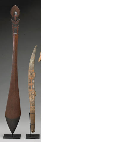 Two Solomon Islands implements