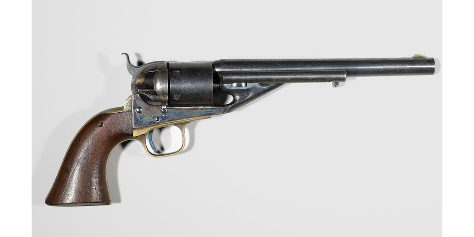 A fine U.S.N. Colt Model 1861 Navy conversion revolver