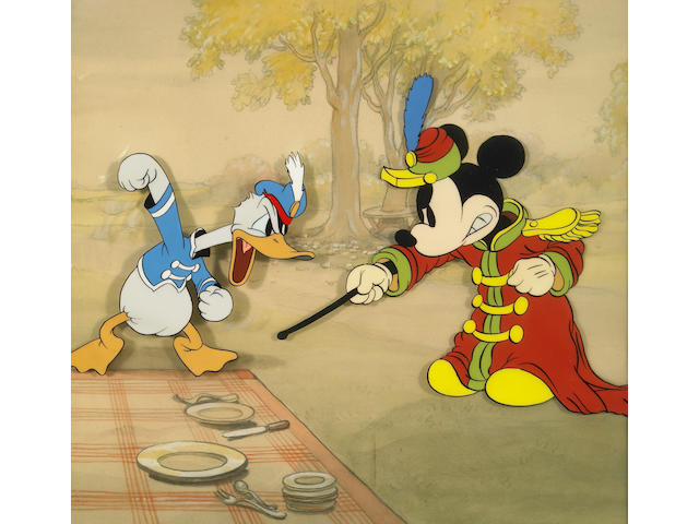 """A Walt Disney celluloid from """"The Band Concert"""""""