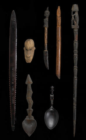 Seven ethnographic items